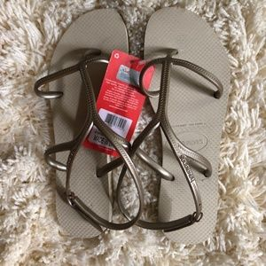 Women's havaianas, Size 11/12, New with Tag